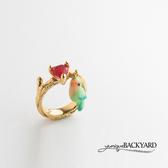 yuniqueBACKYARD 小鸚鵡寶石戒指