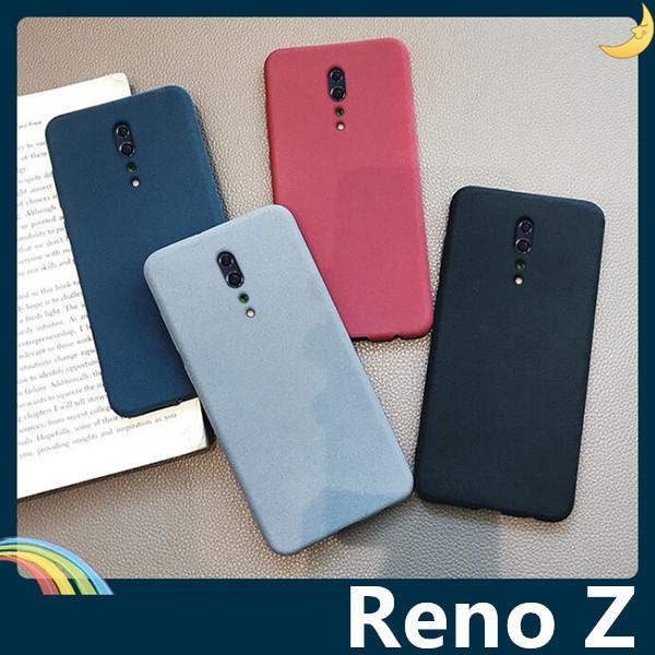 OPPO Reno Z 絨面流沙保護套 軟殼 磨砂防滑 細沙質感 全包款 矽膠套 手機套 手機殼 歐珀