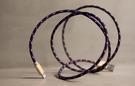 alto Braided Lightning 編織花紋 Cable - 海軍藍/ 香檳金 Apple MFI 認證 iPhone iPad 充電線 傳輸線