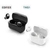 EDIFIER 漫步者 TWS1 真無線立體聲藍牙耳機 白/黑雙色可選 全新品公司貨保固