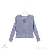 【INI】細膩魅力、基本百搭素色針織外套.灰色