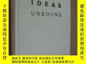 二手書博民逛書店IDEAS罕見UNBOUND 《未束縛思維》 精裝圖文本 銅版紙