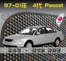【鑽石紋】97-01年 Passat 4代 腳踏墊 / 台灣製造 passat海馬腳踏墊 passat腳踏墊 passat踏墊