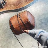 小包包時尚秋冬潮女包休閒手提韓版百搭錬條單肩包斜背包 瑪麗蓮安