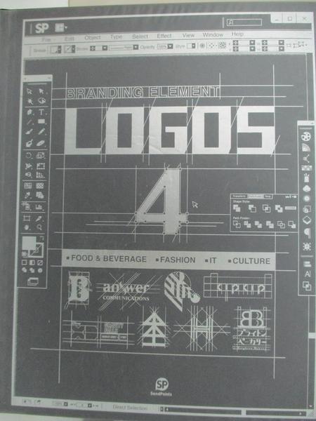 【書寶二手書T2/設計_EKV】Branding Element: Logos 4_Sendpoints (ed.)
