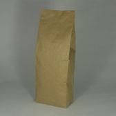 東尚咖啡袋FK500+V 500g牛皮紙袋夾邊合掌封袋=50個/盒(有氣閥)