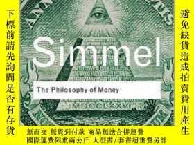 二手書博民逛書店金錢的哲學罕見英文原版 The Philosophy of Money Georg Simmel Routledg