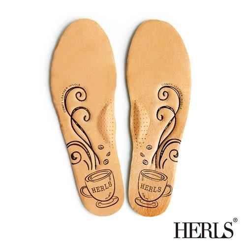 HERLS 真皮 舒壓 柔軟鞋墊