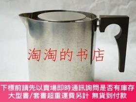 二手書博民逛書店Stelton罕見Arne Jacobsen Hot Water Jug <CYLINDA-LINE>Y473