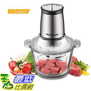 [9美國直購] Electric Food Chopper, 8-Cup Food Processor by Homeleader,  4 Sharp Blade 食物處理器
