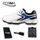 高爾夫男士球鞋 寬版鞋底 旋轉鞋帶 防水透氣 GSH125WBBLU