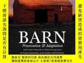 二手書博民逛書店【罕見】2003年出版精裝 Barn: Preservation