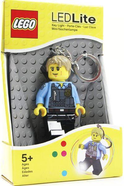 樂高Lego 【城市系列-警探鑰匙圈含LED燈 】 (盒裝)-50926