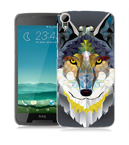 ♥ 俏魔女美人館 ♥ (狼*立體浮雕水晶硬殼}HTC Desire 828 手機殼 手機套 保護套 保護殼