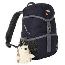 Sprayway 英國 史畢克10升背包 墨藍/灰 附娃娃 SP-003187 旅遊 兒童背包 [易遨遊]