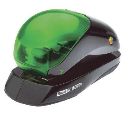 Rapid R5020 電動訂書機(平腳卡匣式釘針)/台