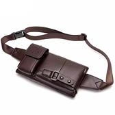 腰包 新款腰包男戶外運動跑步手機包小挎包單肩包大容量胸包腰帶包錢包