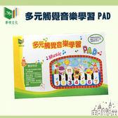 【華碩文化】有聲書-多元觸覺音樂學習PAD