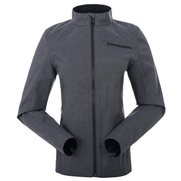 【聖伯納St. Bonalt】女-短版英倫風時尚防水機能風衣(0176)-暗灰 防寒外套 保暖 登山 戶外 防風