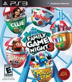 PS3 Hasbro Family Game Night 3 HASBRO 家庭遊戲之夜 3(美版代購)