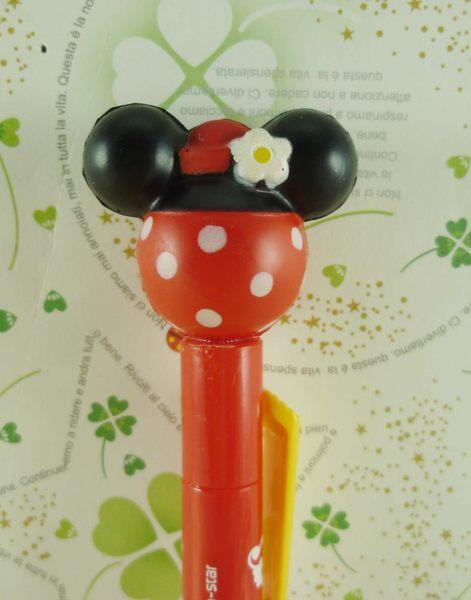 【震撼精品百貨】Micky Mouse_米奇/米妮 ~自動筆-紅