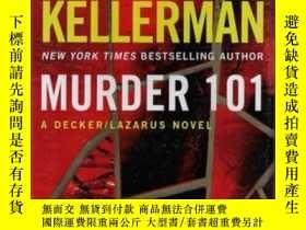 二手書博民逛書店Murder罕見101: A Decker Lazarus No