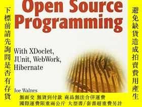 二手書博民逛書店Java罕見Open Source ProgrammingY256260 Joseph Walnes Wile