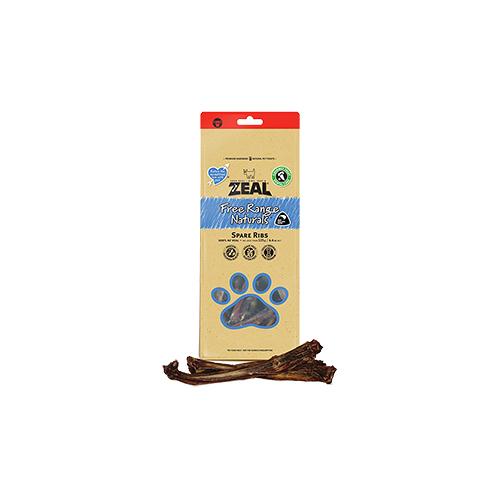 寵物家族-ZEAL 真致天然風乾零食-牛肋骨(分段)500g