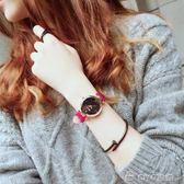 情侶手錶  女士手錶防水時尚款女星空超薄休閒大氣學生韓版女款  ciyo黛雅