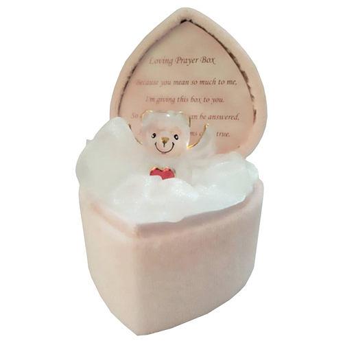 【Loving 心型天使熊】水晶玻璃,獨家販售的精緻禮物!