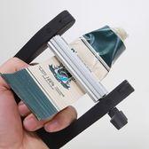 擠牙膏神器擠壓器工具手動金屬擠膏器美發染膏顏料牙膏夾不銹鋼  9號潮人館