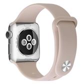 適用蘋果手表表帶apple watch表帶iwatch4/5代硅膠運動型撞色40mm44男女2/3/5表帶配件 【米家科技】