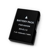 【EC數位】破解版 D5500 D5600 EN-EL14 ENEL14 EN-EL14a 高容量鋰電