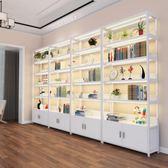 货柜精品展示柜货架展示架隔断陈列柜置物架鞋架产品柜 (6層1.2米組合總長4.8m)jj
