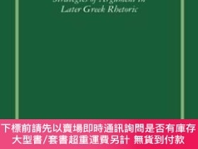 二手書博民逛書店Hermogenes罕見On Issues Strategies Of Argument In Later Gre