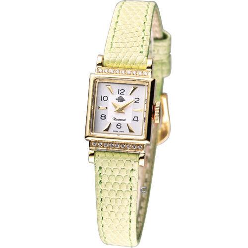 Rosemont 諾依斯特系列 時尚錶TRS017-01-GN淡綠色
