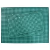 A4切割墊 16K切割板 深綠色/一片入(定70) 有格 桌墊切割板 切割墊板 30cm x 22cm MIT製