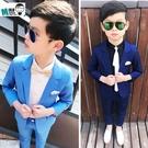 男童禮服 童裝春季韓版西裝套裝兒童小西服...