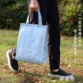野餐袋 牛津布飯盒袋保溫包戶外野餐包防水大容量手提便當包鋁箔加厚 KB9414【野之旅】