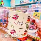 正版 蠟筆小新系列 野原新之助 陶瓷馬克杯 馬克杯 杯子 水杯 餅乾款 COCOS MS380