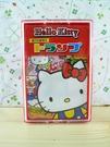 【震撼精品百貨】Hello Kitty 凱蒂貓~撲克牌-吃圖案-紅色
