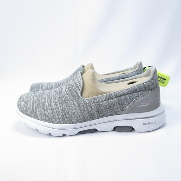 Skechers GO WALK 5 - HONOR 慢跑鞋 15903WGRY 女款 花紋灰【iSport】