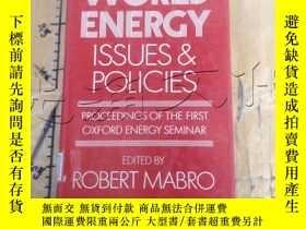 二手書博民逛書店World罕見Energy: Issues and Polici