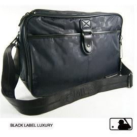 Backbager 背包族【MLB 美國大聯盟 洋基】 棋盤格系列 耐用、時尚的個性包 斜背包/側背包-黑色