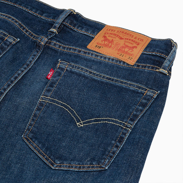 Levis 男款牛仔褲 / 519™ 低腰超緊身窄管 / 彈性布料