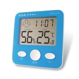 《鉦泰生活館》聖岡 GM-250大螢幕智能液晶溫濕度計