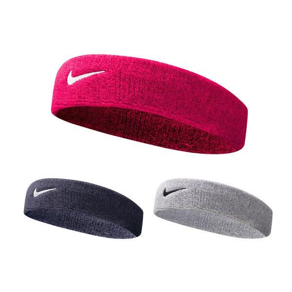 NIKE Swoosh 單色頭帶 (慢跑 路跑 網球 籃球 免運 ≡排汗專家≡