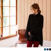 《FA1788》高含棉優雅素面高領針織毛衣 OrangeBear
