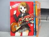 【書寶二手書T1/漫畫書_MKM】K-ON!輕音部_1~3集合售_Kakifly