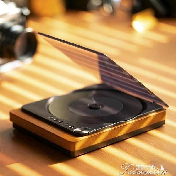CD機 賽塔林CD播放器藍牙便攜發燒光碟專輯唱片機輕奢ins隨身聽 快速出貨